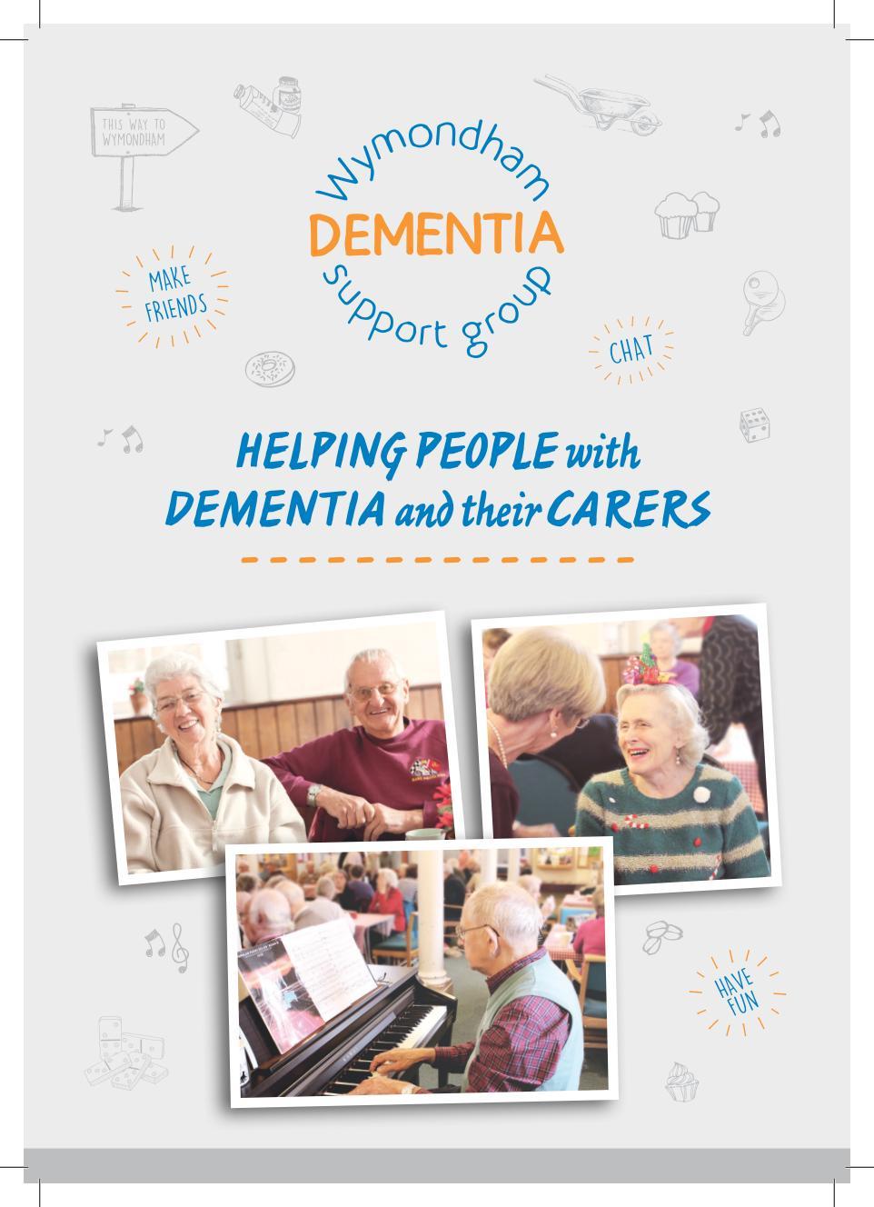 Wymondham Dementia Support Group Information Leaflet - Page 1