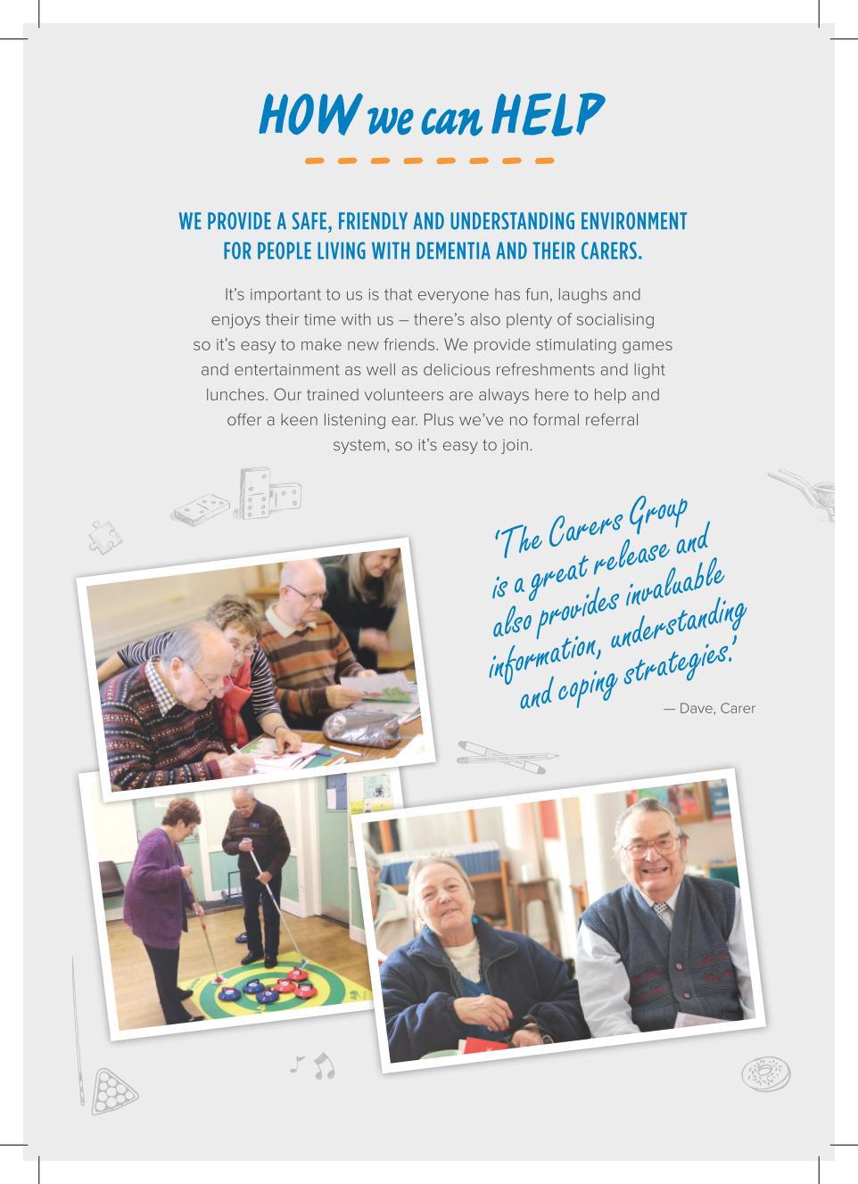 Wymondham Dementia Support Group Information Leaflet - Page 2