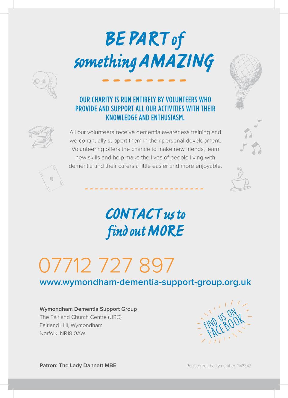 Wymondham Dementia Support Group Information Leaflet - Page 4